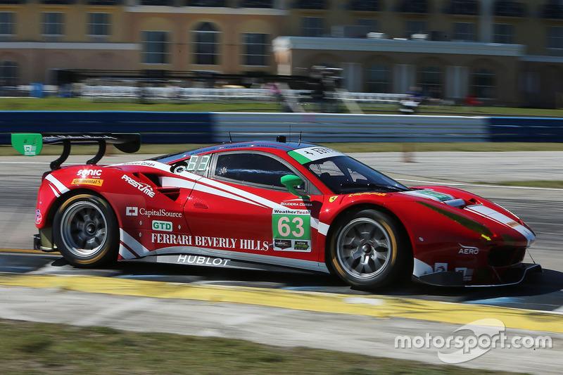 2. GTD: #63 Scuderia Corsa, Ferrari 488 GT3