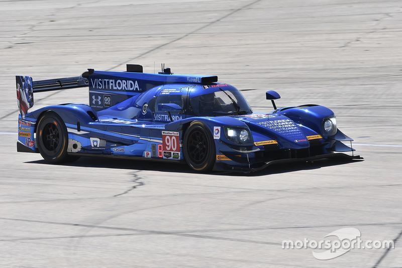 9. P: #90 Visit Florida Racing, Multimatic Riley LMP2