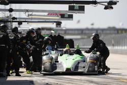 #20 BAR1 Motorsports ORECA FLM09: Don Yount, Buddy Rice, Daniel Burkett, Pit stop