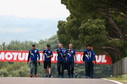 Florian Marino, Pata Yamaha; Alex Lowes, Pata Yamaha