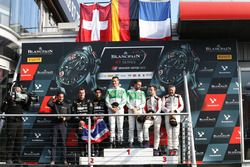 Pro-Am Podium: first place Alexander Matschull, Daniel Keilwitz, Rinaldi Racing, second place Piti B