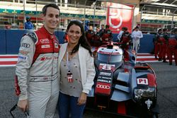 Oliver Jarvis, Audi Sport Team Joest and his wife Chelsea