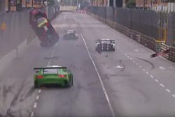 Laurens Vanthoor, Audi Sport Team WRT Audi R8 LMS crash