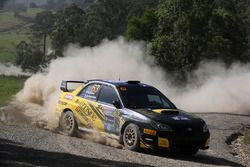 Брендан Ривз и Рианон Джельсомино, Subaru Impreza WRX STI
