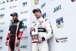 Podium: top rookie Konstantin Tereshchenko, Teo Martin Motorsport