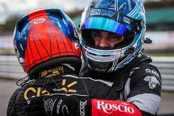 Race winner Pietro Fittipaldi, Lotus, third place Roy Nissany, RP Motorsport