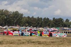 Juan Pablo Gianini, JPG Racing Ford, Juan Martin Trucco, JMT Motorsport Dodge, Juan Manuel Silva, Ca