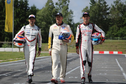 Neel Jani, Marcel Fässler und Sébastien Buemi