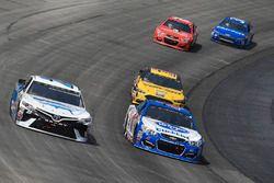 Gray Gaulding, BK Racing Toyota, A.J. Allmendinger, JTG Daugherty Racing Chevrolet, Matt DiBenedetto
