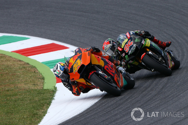 Pol Espargaro, Red Bull KTM Factory Racing and Jonas Folger, Tech 3 Yamaha