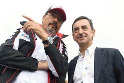 Rob Leupen, head of Toyota Racing, Pierre Fillon, president of the ACO