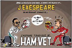 L'humeur de Cirebox - Hamilton/Vettel inspire Shakespeare