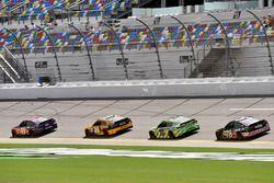 Denny Hamlin, Joe Gibbs Racing Toyota, Matt Kenseth, Joe Gibbs Racing Toyota, Kyle Busch, Joe Gibbs Racing Toyota, Martin Truex Jr., Furniture Row Racing Toyota