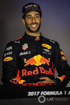 Conferencia de prensa: ganador de la carrera Daniel Ricciardo, Red Bull Racing