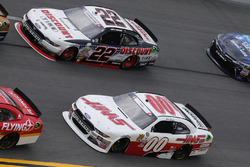 Cole Custer, Stewart-Haas Racing Ford Joey Logano, Team Penske Ford
