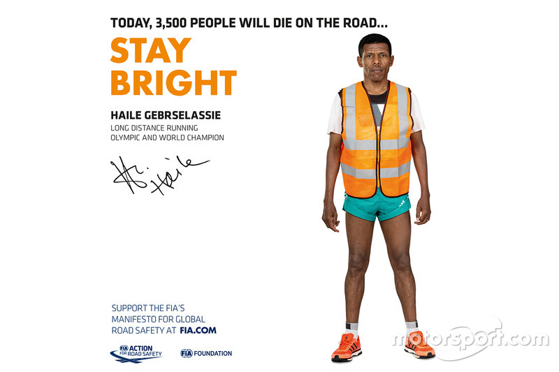 Haile Gebrselassie, corredor de larga distancia