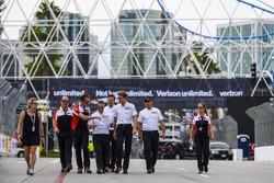 Porsche Team track walk
