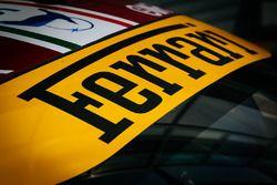 Ferrari windshield banner
