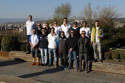 Gruppenfoto: Fahrer für die TCR-Saison 2017