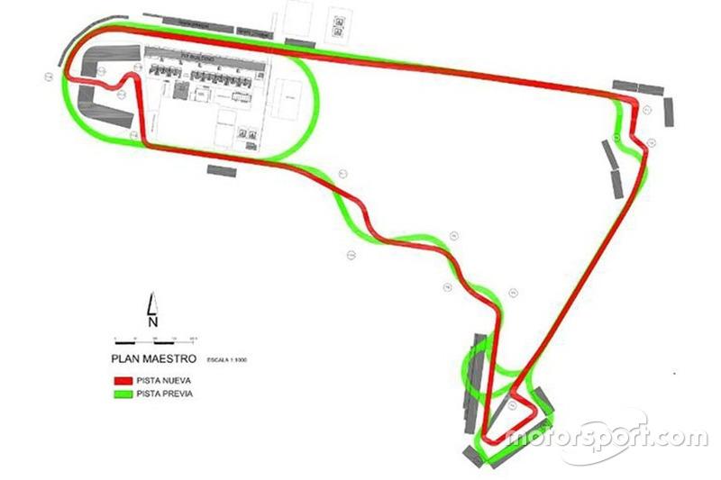 Con una longitud de 4,304 metros, al circuito mexicano se dan el mismo número de vueltas que en el GP de Brasil (71), con solo cinco metros más que Interlagos.