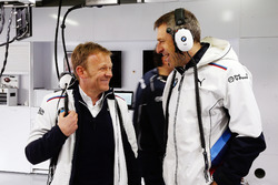 Stefan Reinhold, Teamchef BMW Team RMG; Bart Mampey, Teamchef BMW Team RBM
