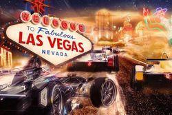 Illustrazione VISA Vegas eRace