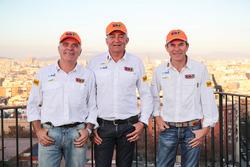 Jordi Juvanteny, José Luis Criado and Enric González, Team Epsilon - KH7