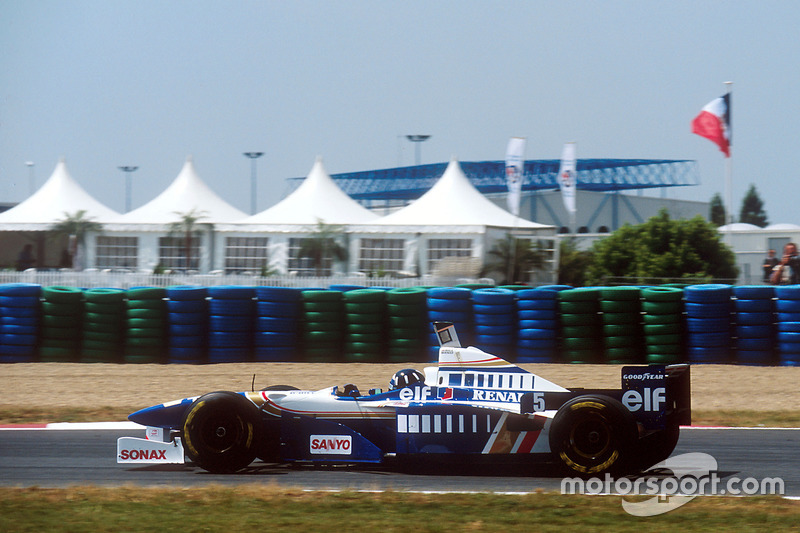 Damon Hill, Williams, en 1995