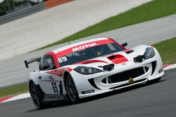 #69 Ayelzo Ecotint Racing Ginetta G55 GT4: Zen Low, Darren Burke, Dan Wells