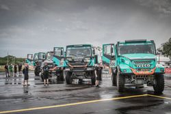 All trucks of the Team De Rooy