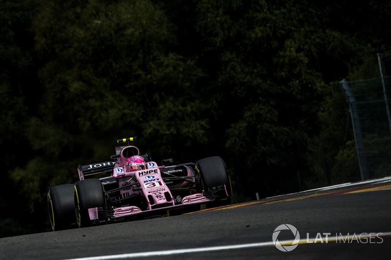 9: Esteban Ocon, Sahara Force India VJM10
