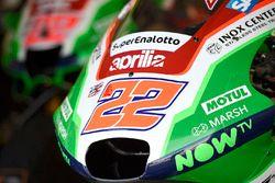 La moto de Sam Lowes, Aprilia Racing Team Gresini