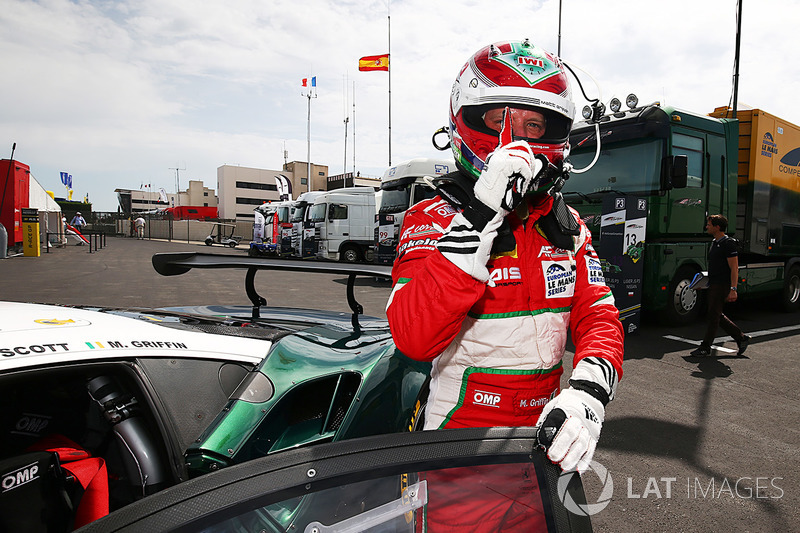 LMGTE ganador de la pole Matt Griffin, Spirit of Race