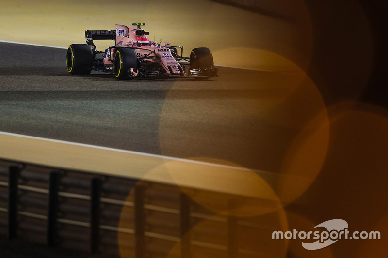 Prove Libere - Esteban Ocon, Force India VJM10