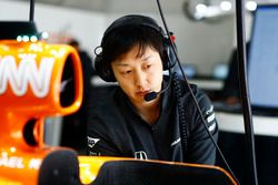 Kenji Nakano, mecánico en jefe de Honda, McLaren-Honda