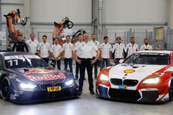 BMW M4 DTM, Nico Menzel, Dirk Adorf, Marco Wittmann, BMW Team RMG, Antonio Felix da Costa, Tom Blomq