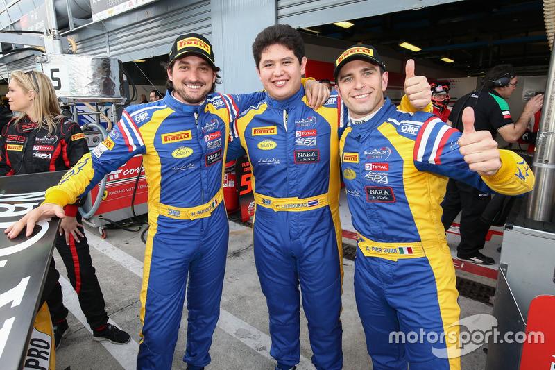 #50 Spirit of Race, Ferrari 488 GT3: Pasin Lathouras, Michele Rugolo, Alessandro Pier Guidi