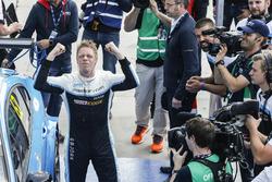 Racewinnaar Thed Björk, Polestar Cyan Racing, Volvo S60 Polestar TC1