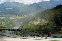 Jorge Lorenzo, Ducati Team, au départ de la course