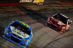 Michael McDowell, Leavine Family Racing Chevrolet, Gray Gaulding, Premium Motorsports Toyota
