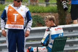 Fabio Quartararo, Pons HP 40 after the crash