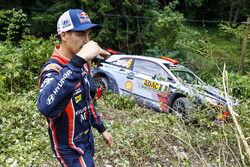 Dani Sordo, Hyundai Motorsport, après son accident