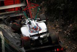 حادث سيارة فيليبي ماسا، ويليامز