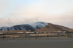 Sonoma Raceway wildfire