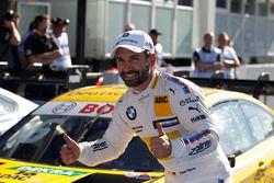 Ganador de la pole Timo Glock, BMW Team RMG, BMW M4 DTM