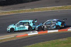 Rob Huff, Leopard Racing Team WRT, Volkswagen Golf GTi TCR, Frédéric Vervisch, Comtoyou Racing, Audi