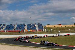 Dorian Boccolacci, Trident, y Raoul Hyman, Campos Racing