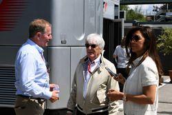Martin Brundle, Sky TV, Bernie Ecclestone, Fabiana Ecclestone