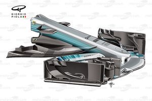 Mercedes W08 narrow nose, Spanish GP