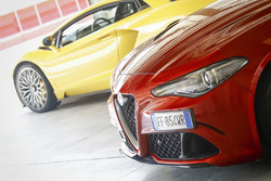Alfa Romeo Giulia Quadrifoglio, Lamborghini Aventador S
